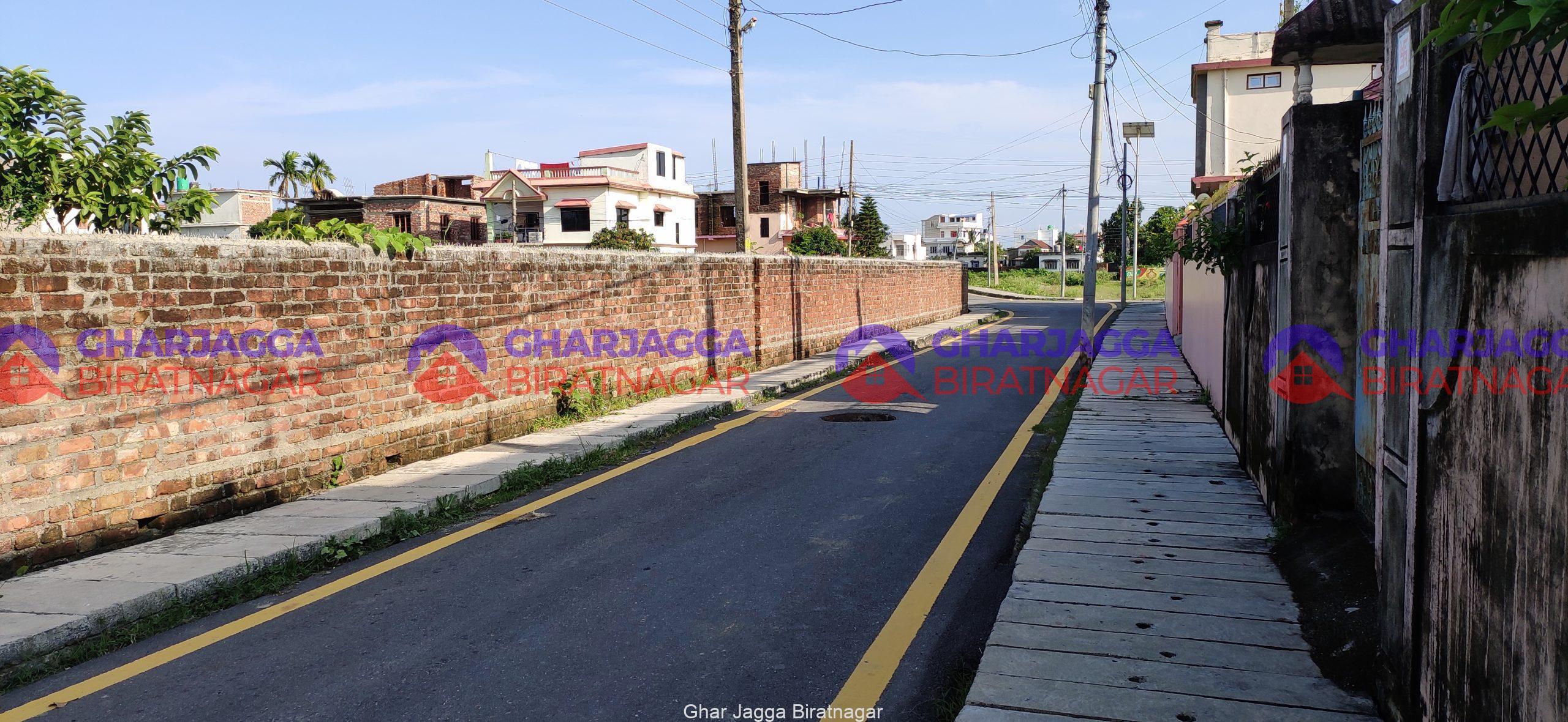 13.5 Dhur land on Sale at Tintoliya Biratnagar   बिराटनगरमा घडेरी बिक्रीमा